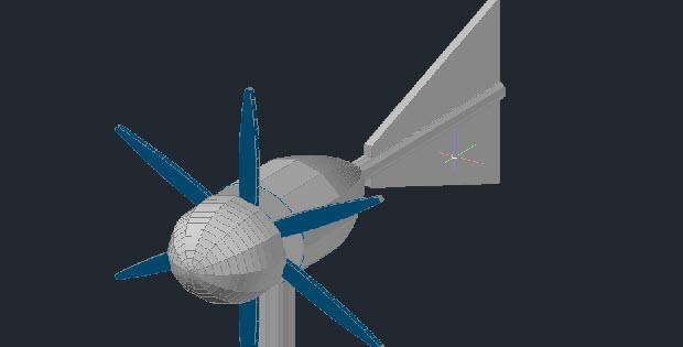Air generator 3d models in autocad free dwg cadsample com for Modelli cad 3d free