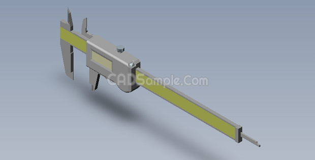Caliper 3D SolidWorks Drawings