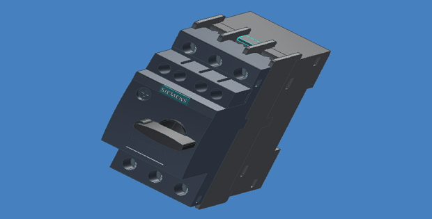 Circuit Breaker 3D Inventor Model