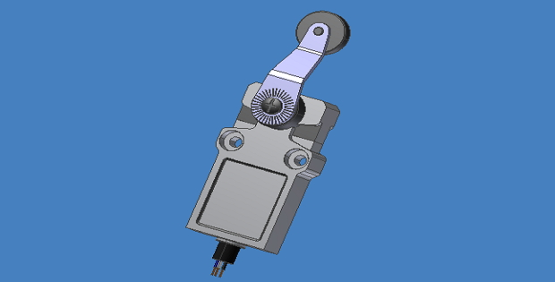 Compact Limit Switch 3D Inventor Models