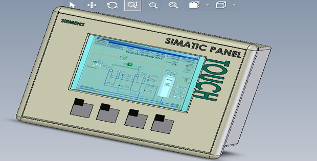 Siemens KTP400 with SolidWorks