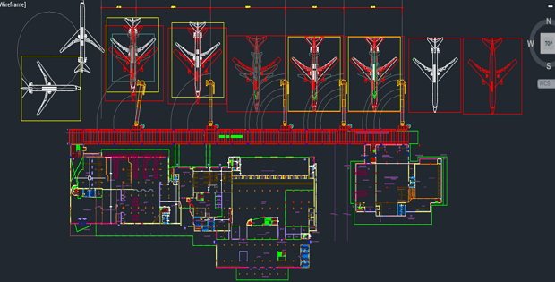 Airport Architectural Drawings FREE DWG