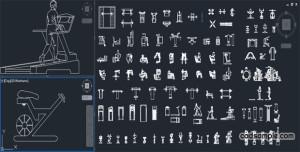 Gym-equipment-CAD-Blocks