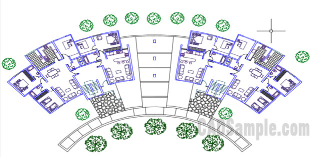 Residential-Architectural-Drawings-Free-Dwg