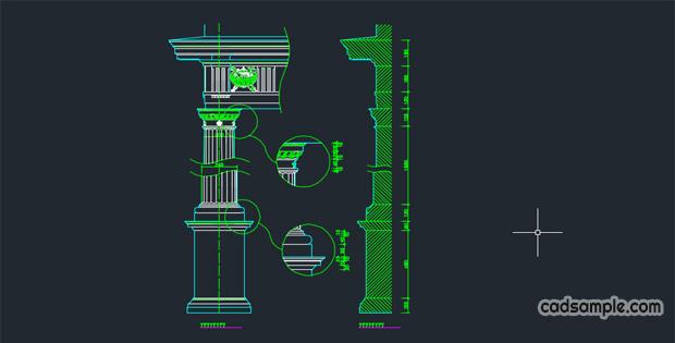Western-style-columns
