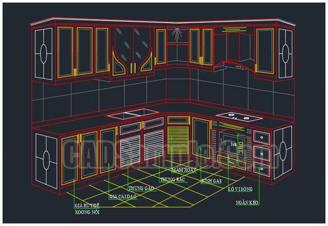Cabinet-and-furniture-hardware-cad-block