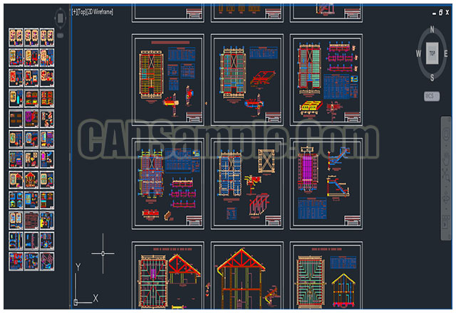 Construction Details DWG Blocks » CADSample Com