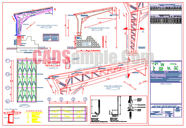Metal-Cover-Dwg-Autocad-Drawing
