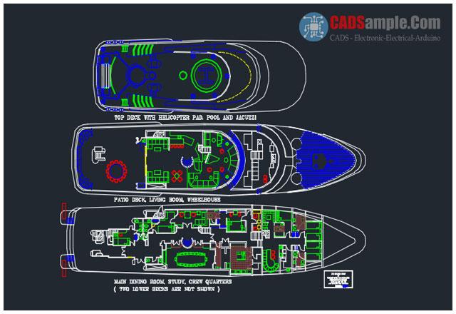 Model-Ship-Plans-DWG