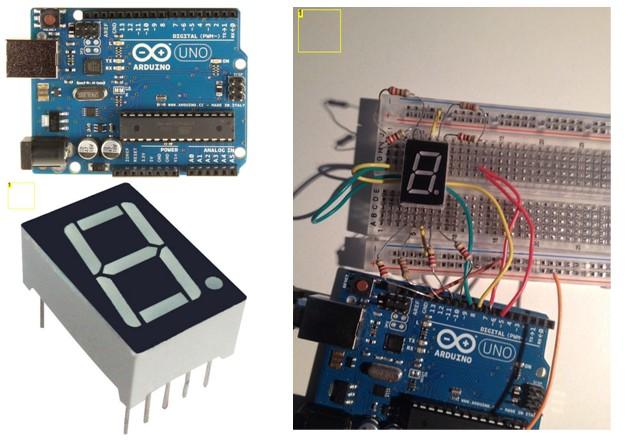 Arduino-7-segment