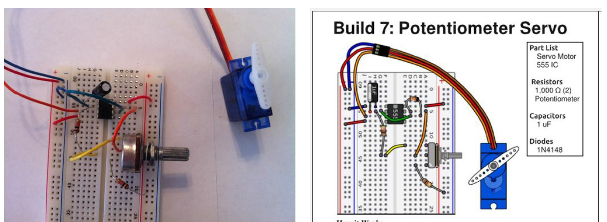 Controlling-Servo-with-555-Timer