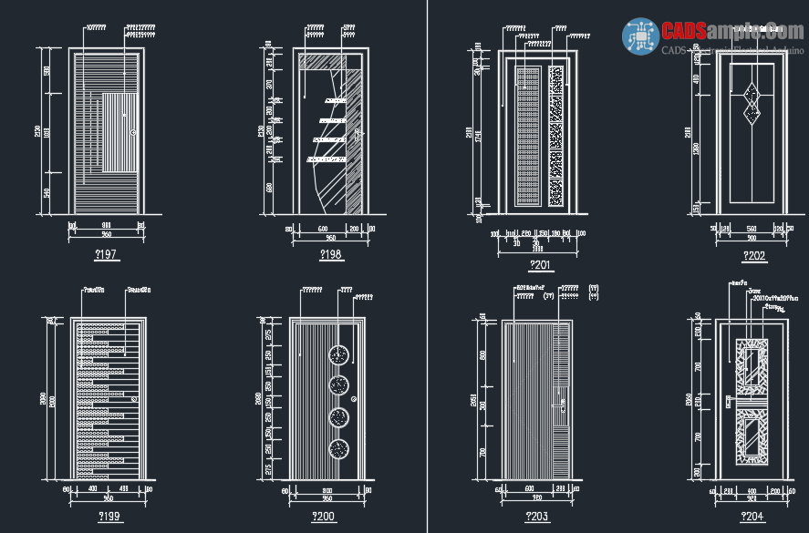 Door-Detail-Block-Autocad-Dwg-2