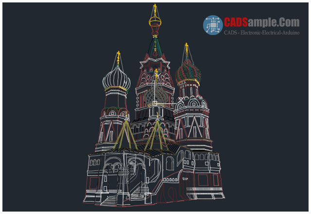 Historical-Building-Saint-Basil's-Cathedral-DWG