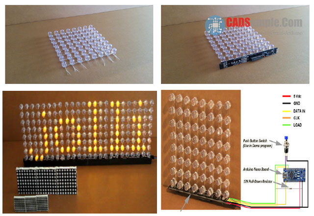 Large-8x8-LED-Matrix-Display
