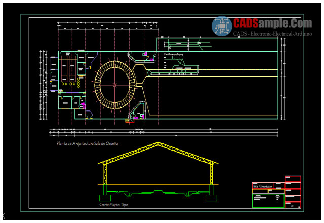 Milking-Room-Plant-Section-AUTOCAD-DWG