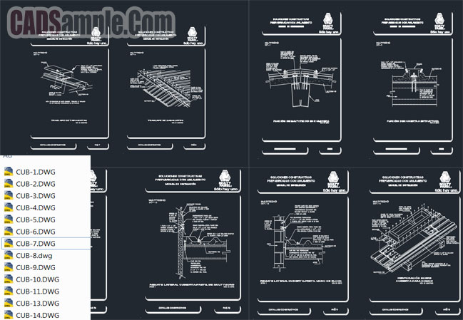 Multy panel constructive system free dwg cadsample com for Free online cad system