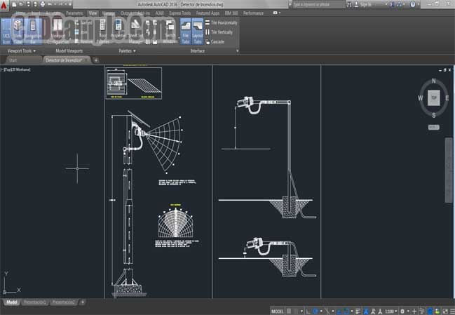camera-details-wires-drawings-free-dwg