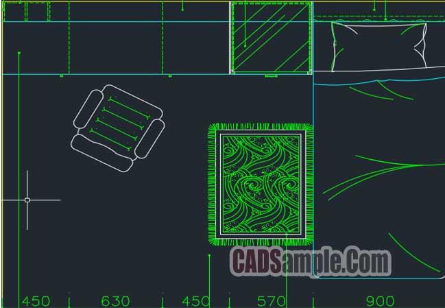 Free Dwg Cupboard CAD Block Plan