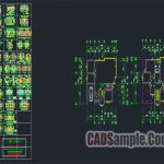 Free Dwg Details Large Number Of Residential Units AutoCAD Drawings