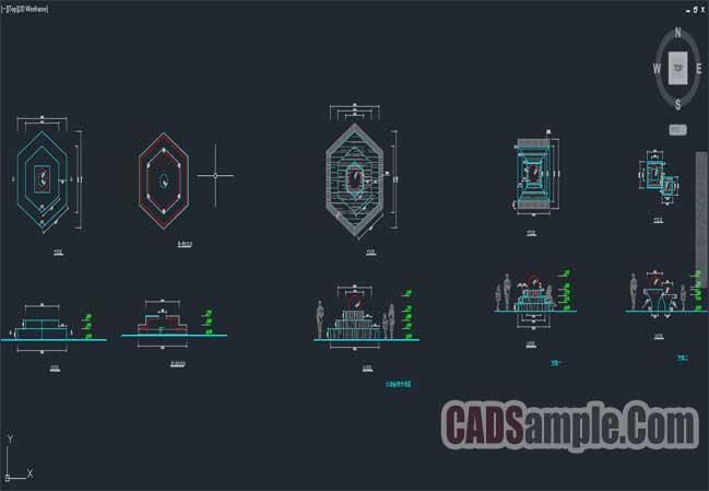 Free Dwg Building blocks cad drawings