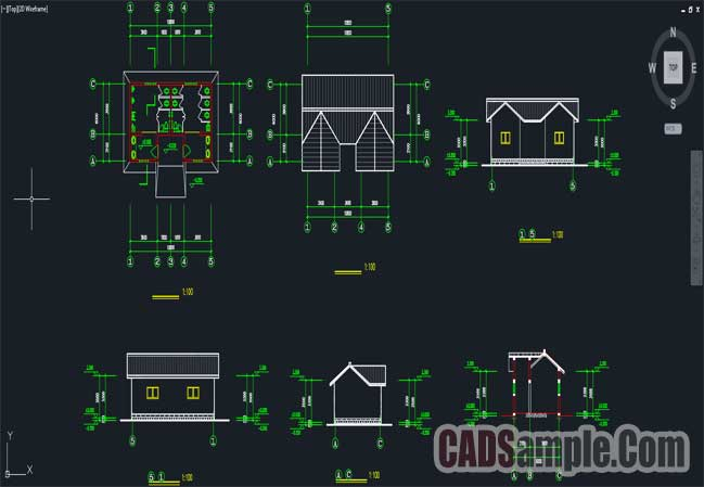 Public Toilets Cad Drawings Free Dwg