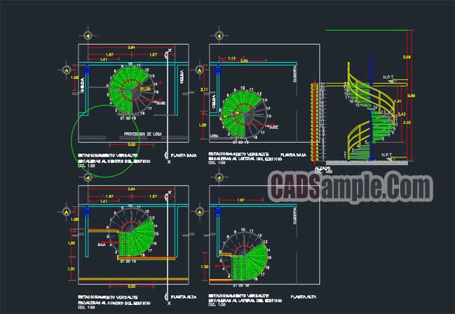 Spiral-Staircase-Autocad-Detail-Drawings-1