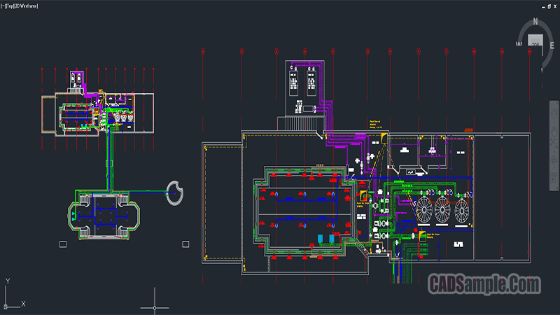 Olympic Swimming Pool Autocad Project Cadsample Com