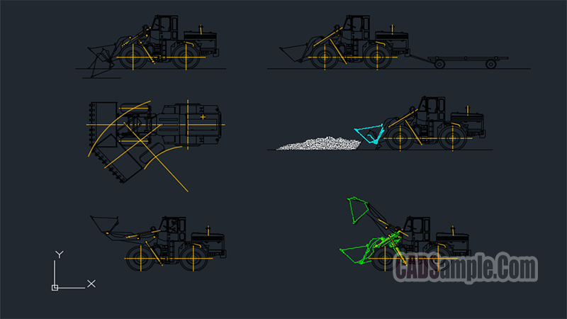 Construction Machines Free Dwg