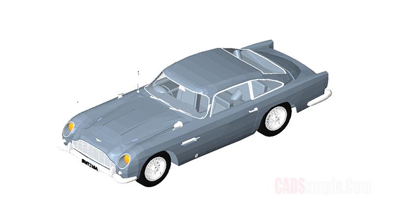 Aston Martin 3D Revit Model