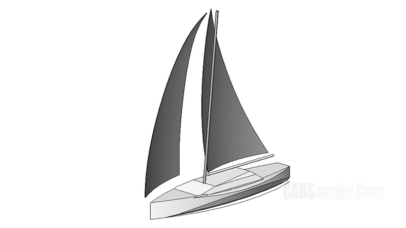 Sailboat 3D Revit Model