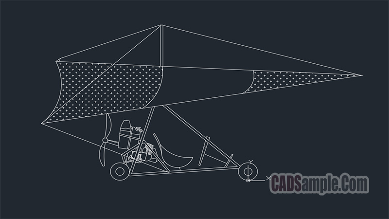 Tricycle Plane Dwg