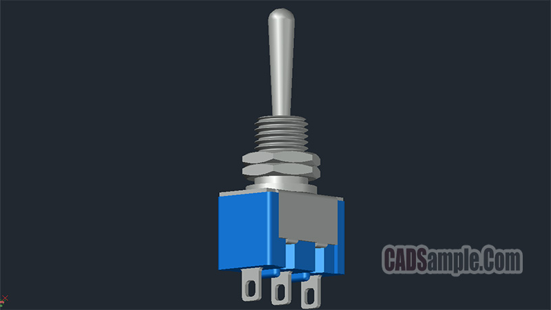3D Toggle Switch