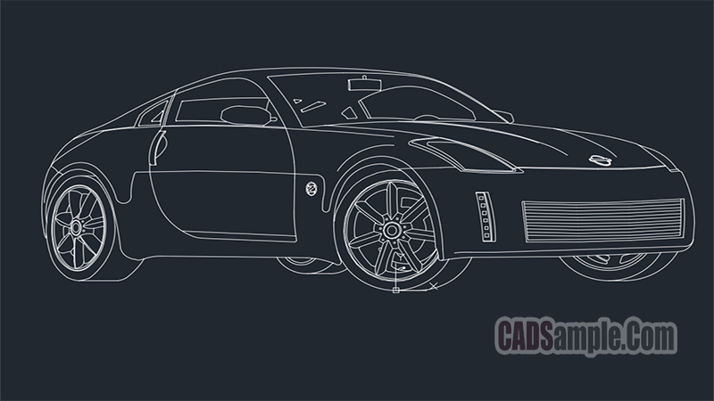 Nissan 350Z Sport Car Coupe
