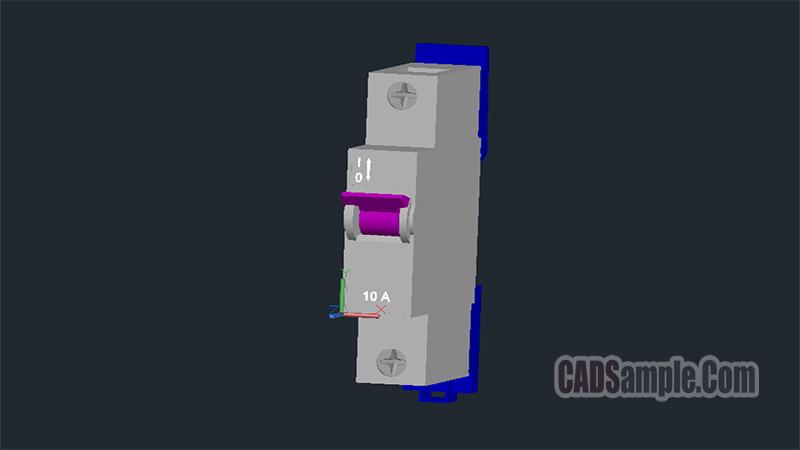 W Automat Fuse 3D Dwg