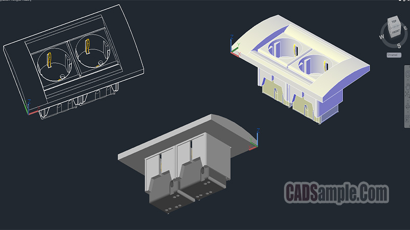 Power Point 3D Cad Dwg