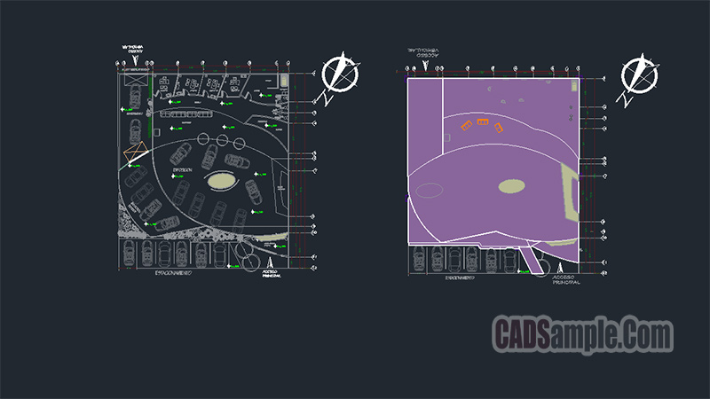 Cars Exhibition Autocad Dwg