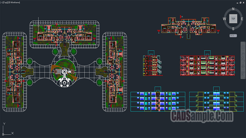 Apartment Building Dwg