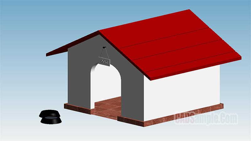 Dog House Revit Model