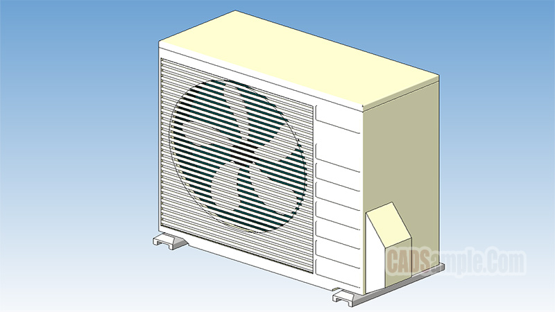 Daikin Air Handling Revit 3D Model