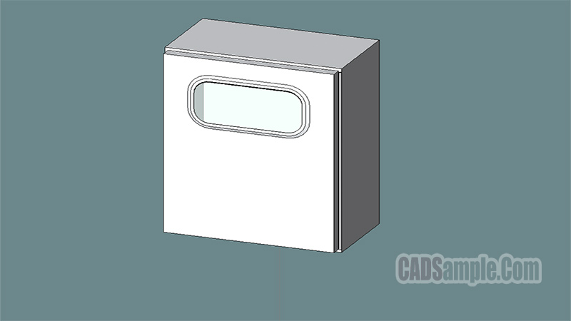 Electrical Meter Box Revit 3D Model