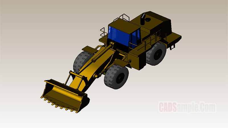 Bulldozer Revit Model