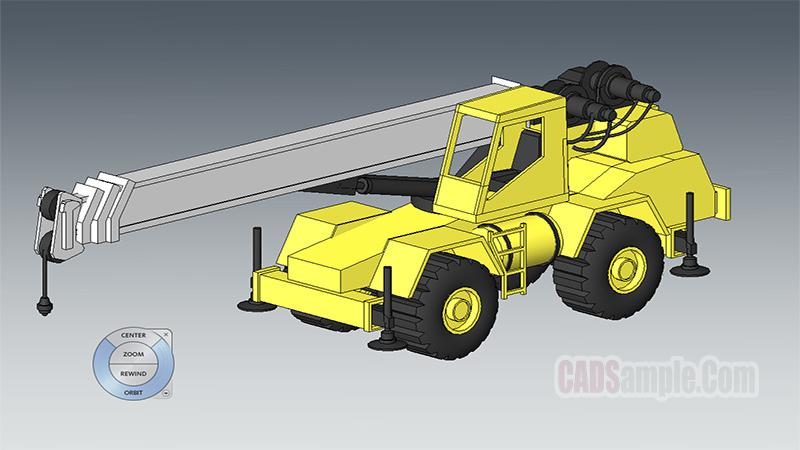 Crane Revit 3D Model