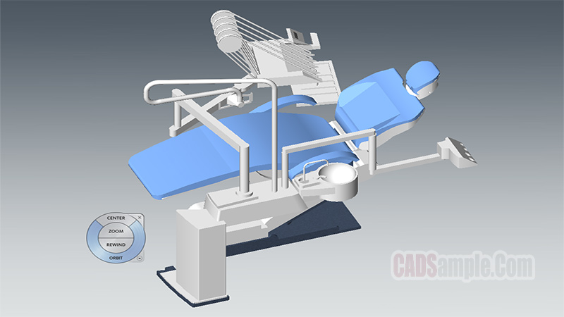Dentist Chair İnstrumental Revit 3D Model