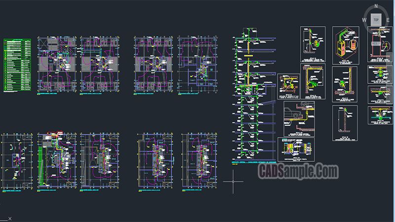 Cctv Application Free Dwg Project