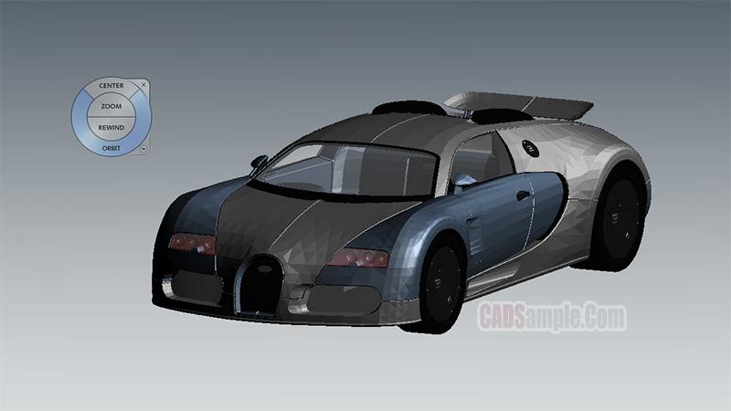 Bugatti Revit 3D Model
