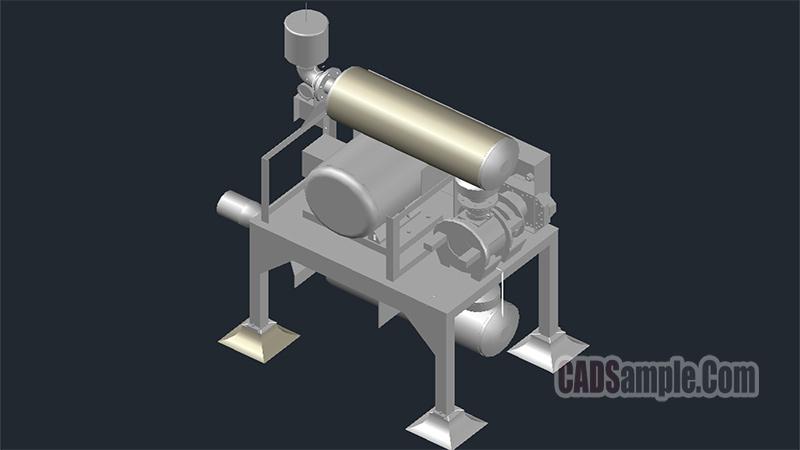 Blower 3D DWG